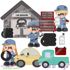 When I Grow Up~Mechanic Cutting Files-Includes Clipart