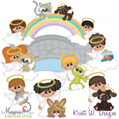 All Pets Go To Heaven SVG Cutting Files Includes Clipart