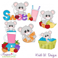 Sweet Smoothie Cutting Files Includes Clipart