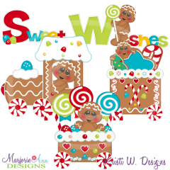 Sweet Ginger Express SVG Cutting Files Includes Clipart