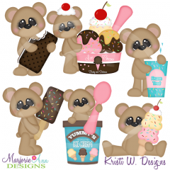 Cool Treats Cutting Files-Includes Clipart