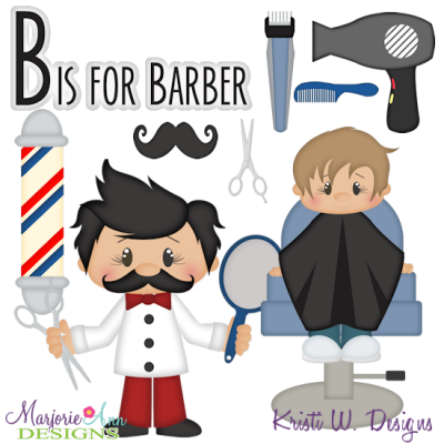 Occupation Alphabet-B- SVG Cutting Files Includes Clipart