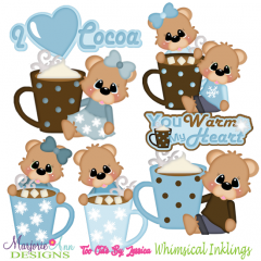 You Warm My Heart SVG Cutting Files Includes Clipart