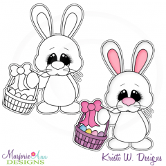 Hoppy Easter 5 Exclusive Digital Stamp + Clipart