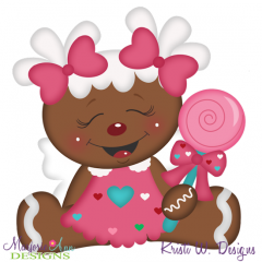Sweet Sugar Angel SVG Cutting Files Includes Clipart