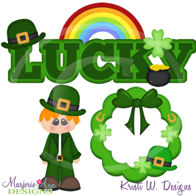 Saint Patrick's Day Mini Set Cutting Files-Includes Clipart