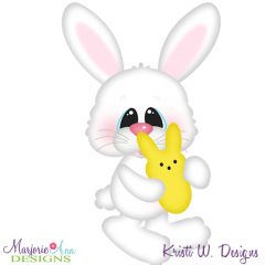 Easter Bunny & Peep SVG Cutting Files + Clipart