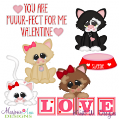 You Are Puuurfect For Me SVG Cutting Files Includes Clipart