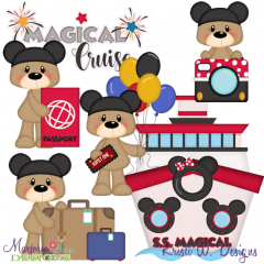 Magical Cruise Exclusive SVG Cutting Files + Clipart