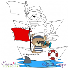 Big Sea Adventure 2 Exclusive Digital Stamp + Clipart