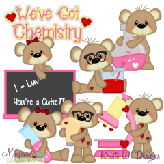 We've Got Chemistry SVG Cutting Files Includes Clipart
