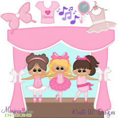 When I Grow Up~Ballerina Two Cutting Files-Includes Clipart