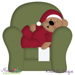 Waiting For Santa SVG Cutting Files Includes Clipart