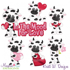 In The Mood For Love Cutting Files-Includes Clipart