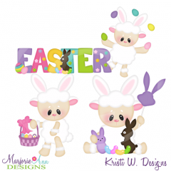 Easter Fun Cutting Files-Includes Clipart