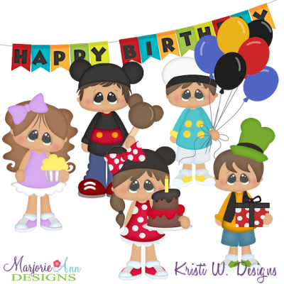 Magical Birthday Exclusive SVG Cutting Files Includes Clipart