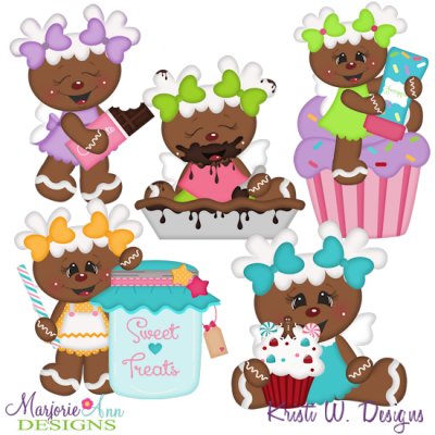 Sugar Angels SVG Cutting Files Includes Clipart