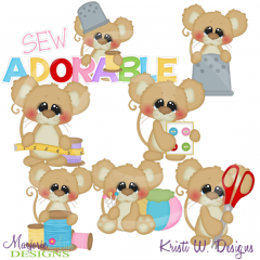 Sew Adorable SVG Cutting Files Includes Clipart