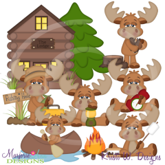 The Great Outdoors SVG Cutting Files Includes Clipart