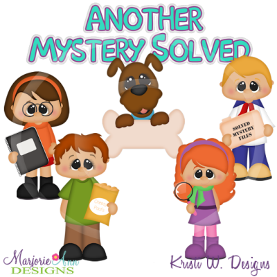 Mystery Gang SVG Cutting Files Includes Clipart