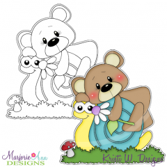 Best Buds Digital Stamp + Clipart