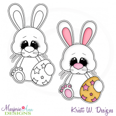 Hoppy Easter 4 Exclusive Digital Stamp + Clipart
