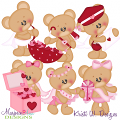 Cute Cupid SVG Cutting Files Includes Clipart