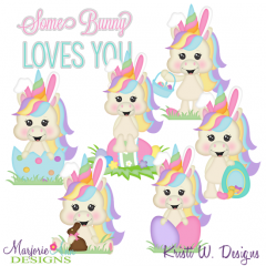 I Wanna Be The Easter Bunny Exclusive SVG Cutting Files+Clipart