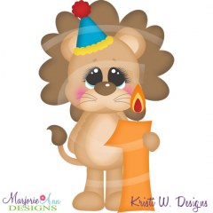 Party Animal 1st Birthday Cutting Files-Includes Clipart