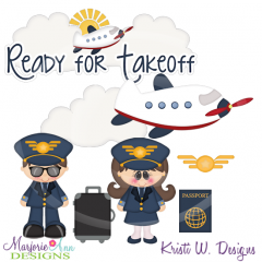 When I Grow Up~Pilot SVG Cutting Files+Clipart