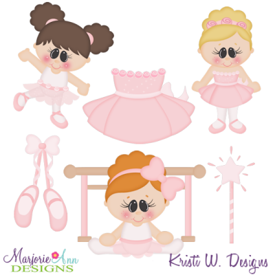When I Grow Up~Ballerina Cutting Files-Includes Clipart