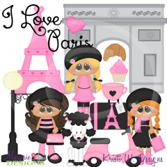 Kids Around The World-Paris Chic SVG Cutting Files + Clipart