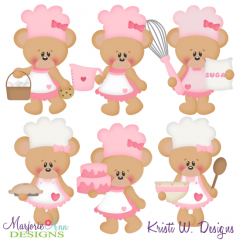 Betsy Loves Baking Cutting Files-Includes Clipart