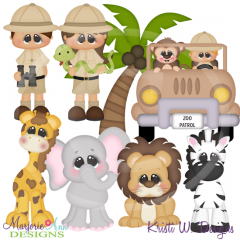 When I Grow Up~Zookeeper SVG Cutting Files+Clipart