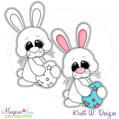 Hoppy Easter 2 Exclusive Digital Stamp + Clipart