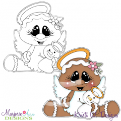 Sugar Angel 2 Exclusive Digital Stamp + Clipart