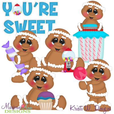 You're Sweet Exclusive SVG Cutting Files + Clipart