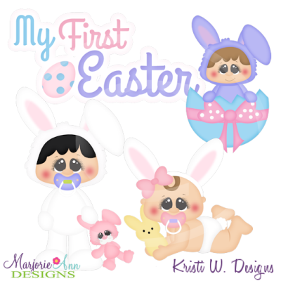 My First Easter Cutting Files-Includes Clipart