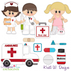 When I Grow Up~Medical Cutting Files-Includes Clipart