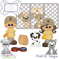 Pound Friends SVG Cutting Files + Clipart