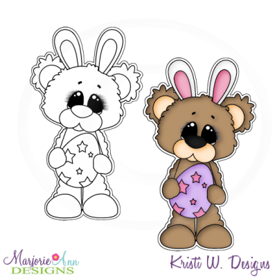 Beary Happy Easter 3 Exclusive Digital Stamp + Clipart