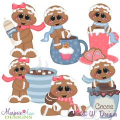 Cookies & Cocoa SVG Cutting Files + Clipart