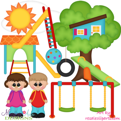 Playground Fun EXCLUSIVE SVG Cutting Files Includes Clipart