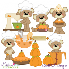 Payton Pumpkin Spice SVG Cutting Files Includes Clipart