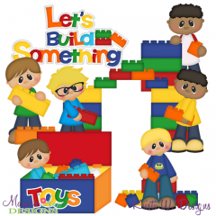 Building Imaginations SVG Cutting Files Includes Clipart