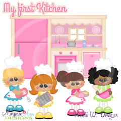 My First Kitchen Cutting Files-Includes Clipart