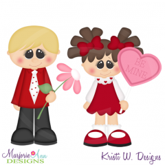 Sweet Valentine Cutting Files-Includes Clipart