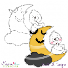 Boo Crew 2 Digital Stamp + Clipart