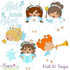 My Angel SVG Cutting Files Includes Clipart